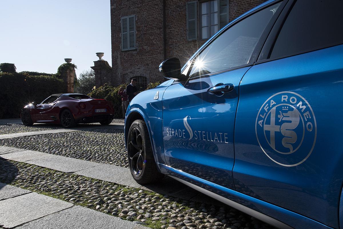 """Alfa Romeo, """"Strade Stellate"""" al Relais Sant'Uffizio"""