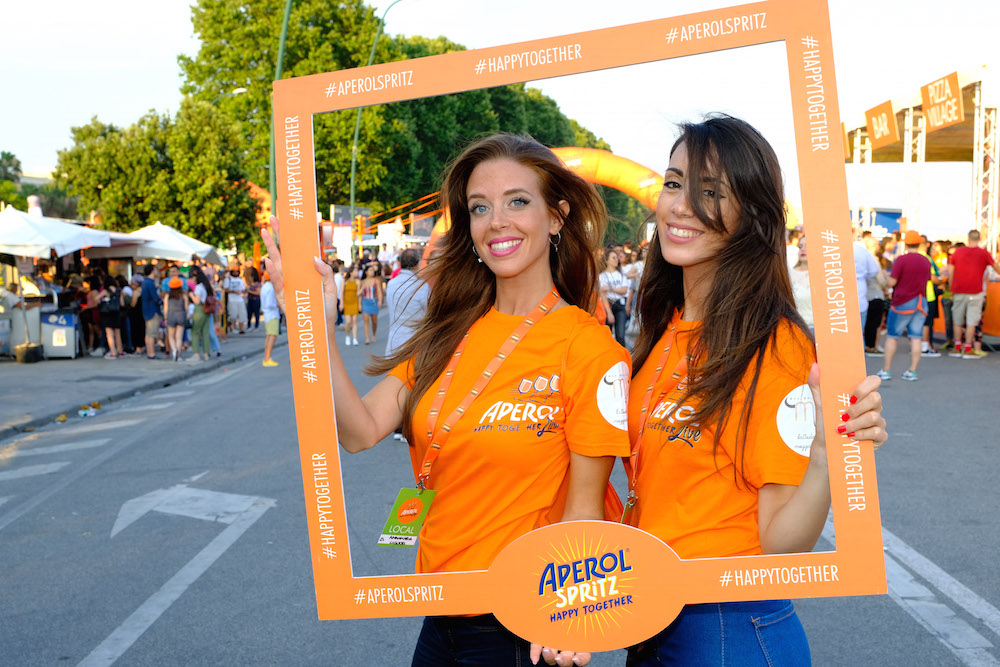 L'evento Aperol Happy Together Live