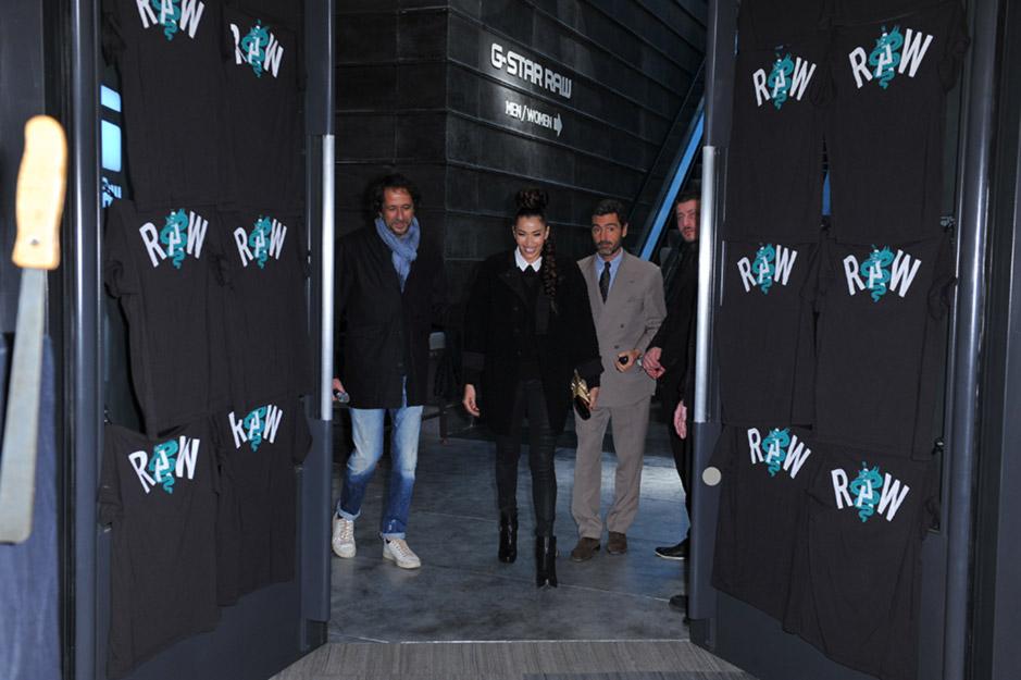 L'apertura del primo store di G-Star RAW a Milano