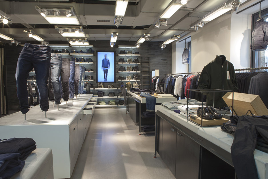 Il primo store di G-Star RAW a Milano