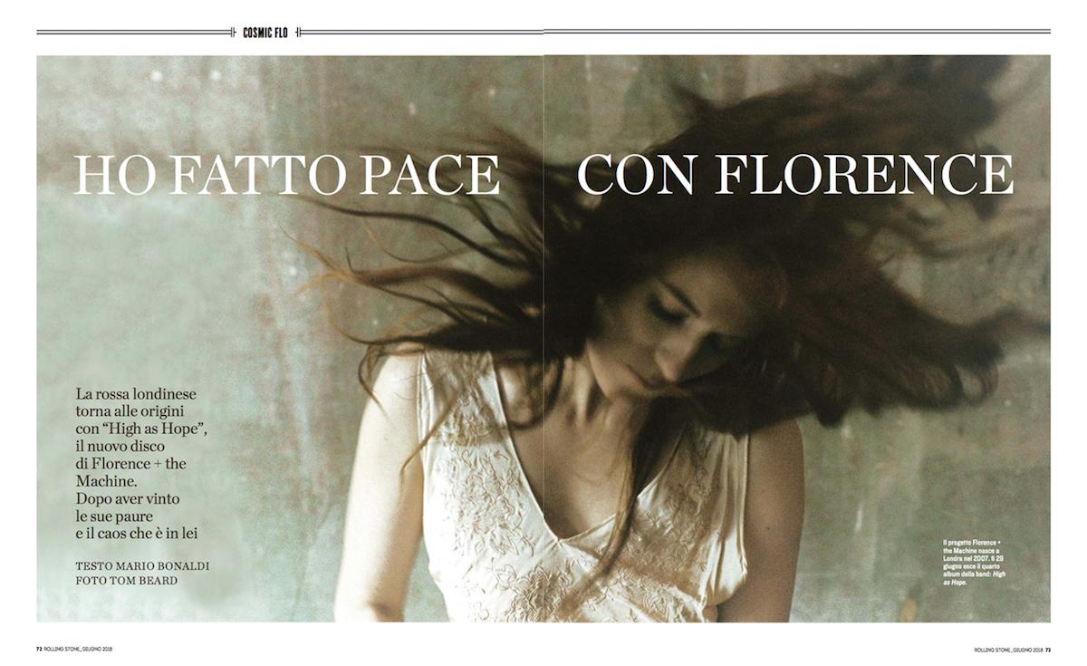 Florence, tra la pace ritrovata e il nuovo album