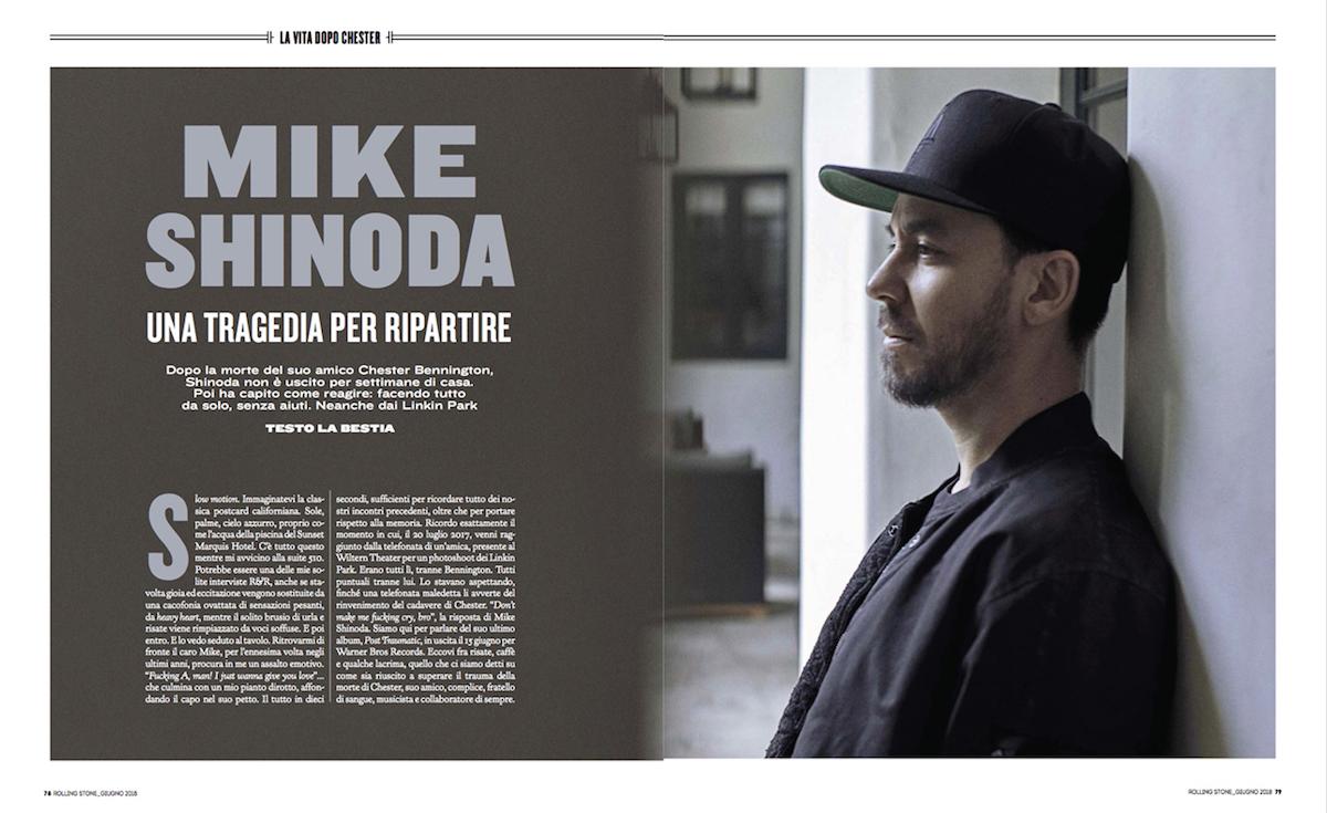 Mike Shinoda racconta la sua nuova vita dopo la tragedia