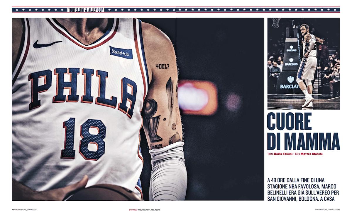 Marco Belinelli racconta la stagione favolosa in NBA
