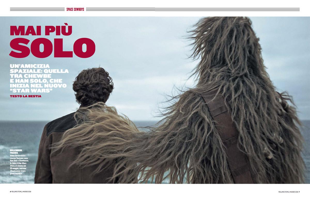 La nostra intervista con il cast di 'Solo: A Star Wars Story'