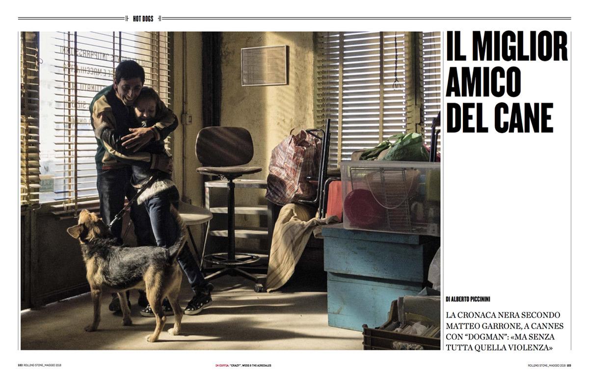 Matteo Garrone racconta il suo nuovo film 'Dogman' prima di partire per Cannes