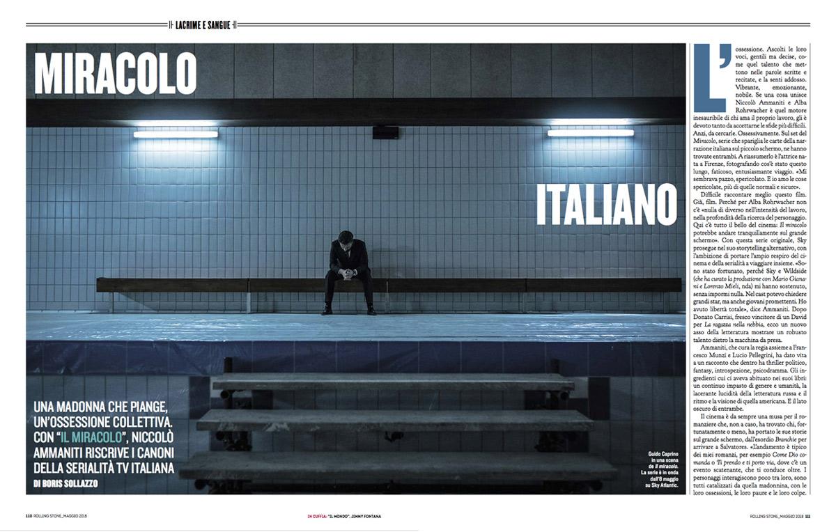 Niccolò Ammaniti ci svela i retroscene de 'Il Miracolo', la serie con cui riscrive i canoni della tv