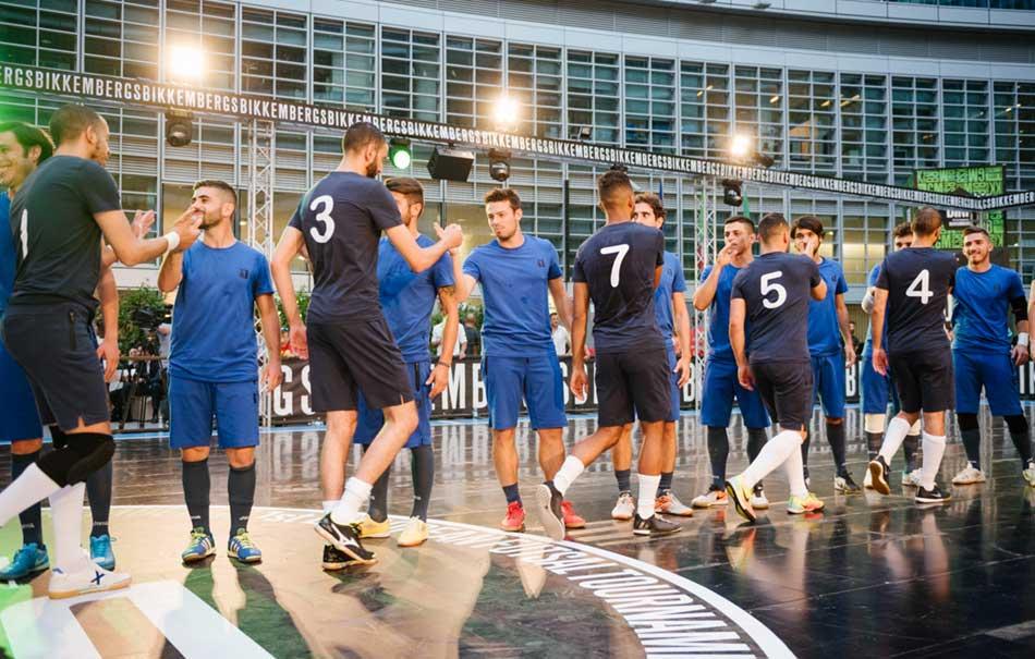 Bikkembergs porta il calcio a 5 in una delle piazze pi hi for High tech milano