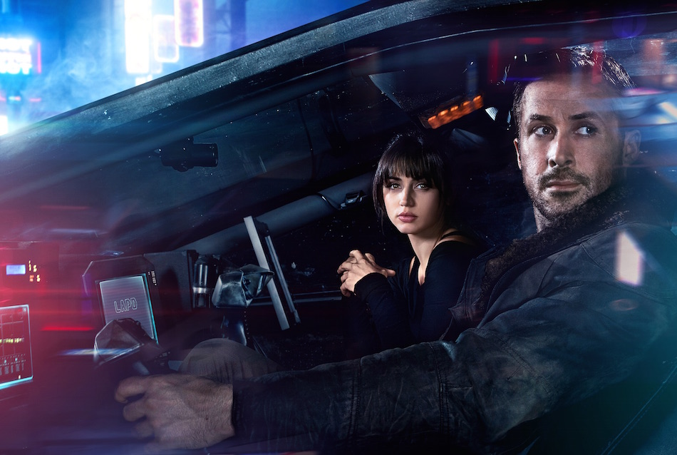 Ana De Armas e Ryan Gosling in 'Blade Runner 2049'