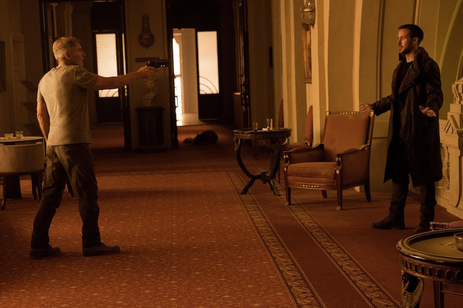 Harrison Ford e Ryan Gosling in 'Blade Runner 2049'
