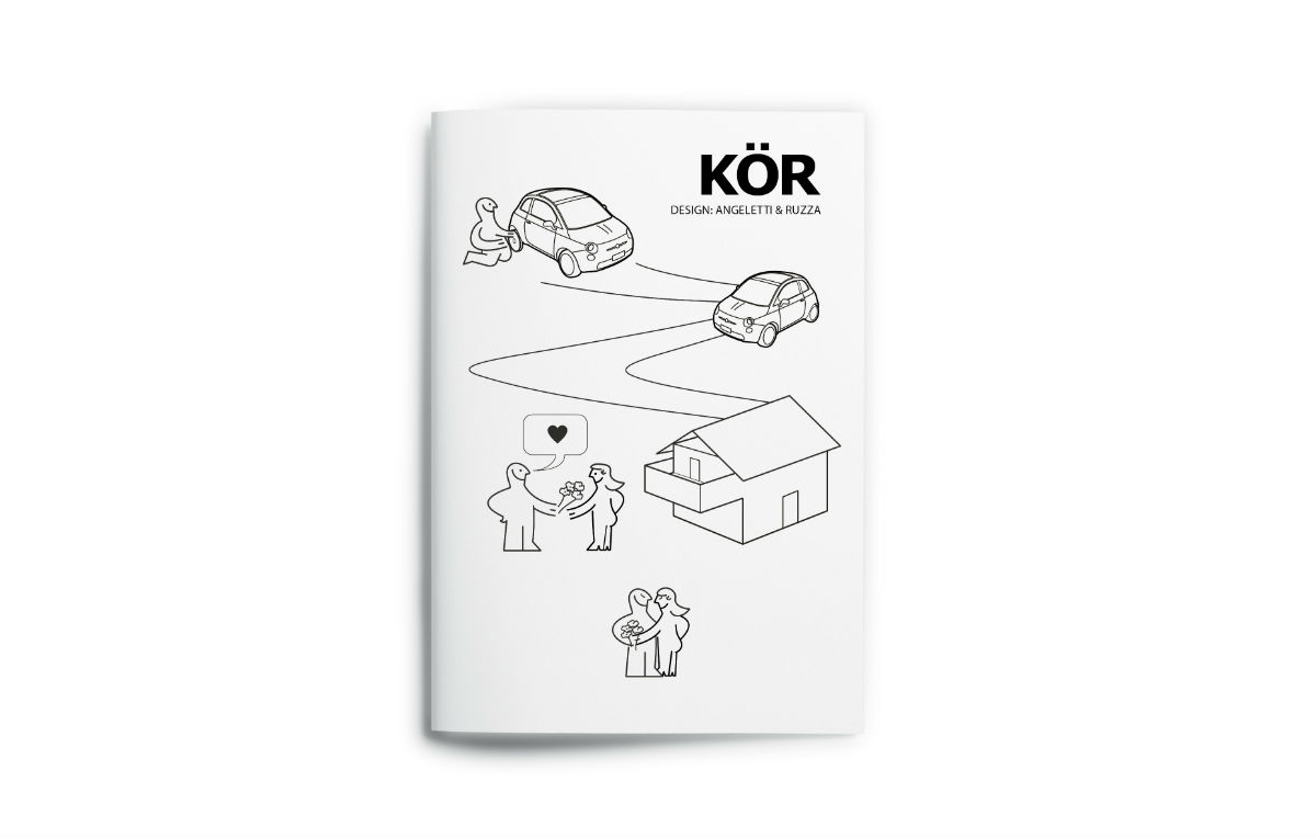 KôR, l'idea di Angeletti & Ruzza