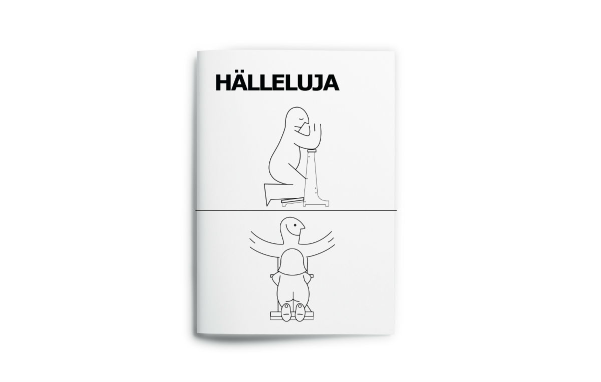 HéLLELUJA, l'idea di Davide Anzalone