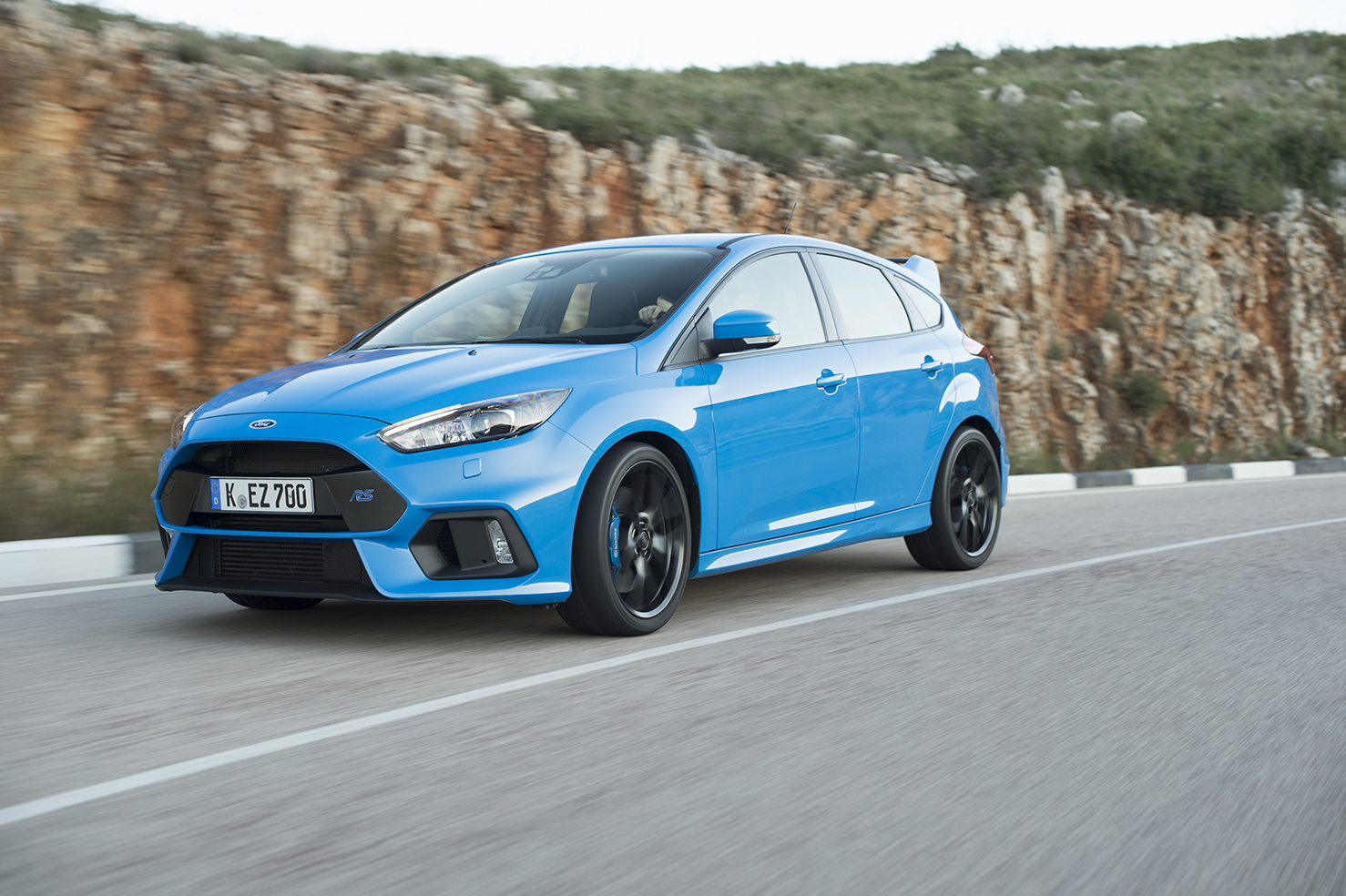La nuova Ford Focus RS