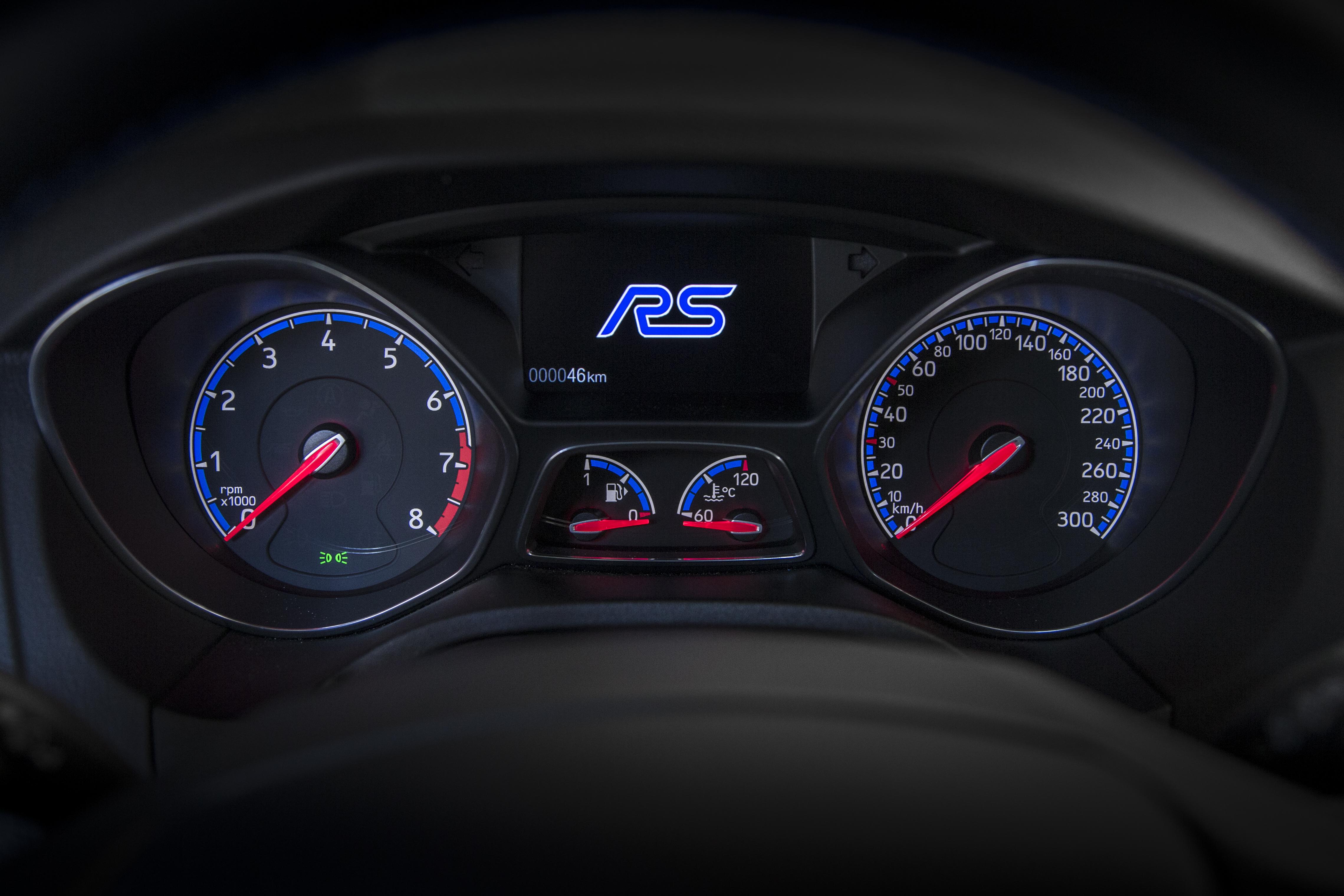 La nuova Ford Focus RS
