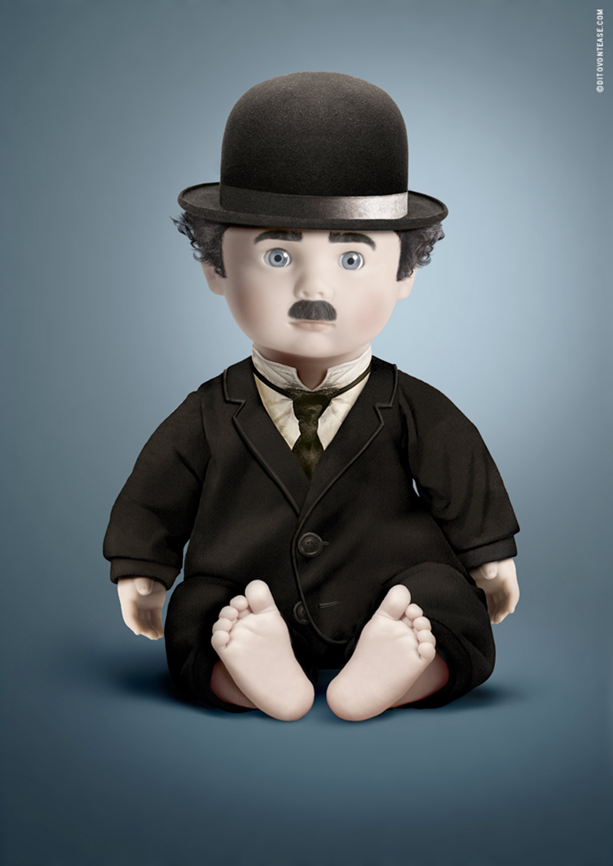 "<a href=""http://www.facebook.com/pages/Dito-Von-Tease/191180957568516"">iDollz Charlie Chaplin</a>"