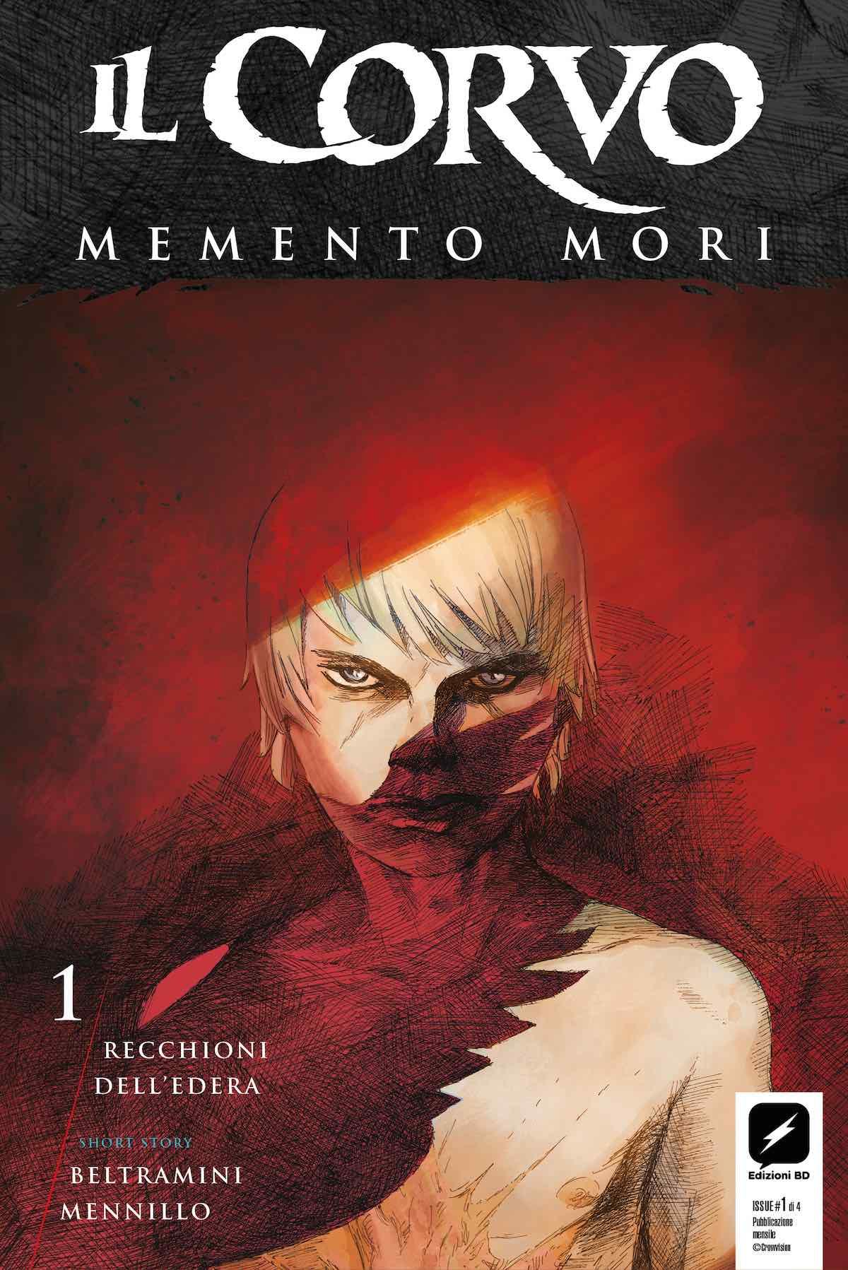 La copertina disegnata da Roberto Recchioni