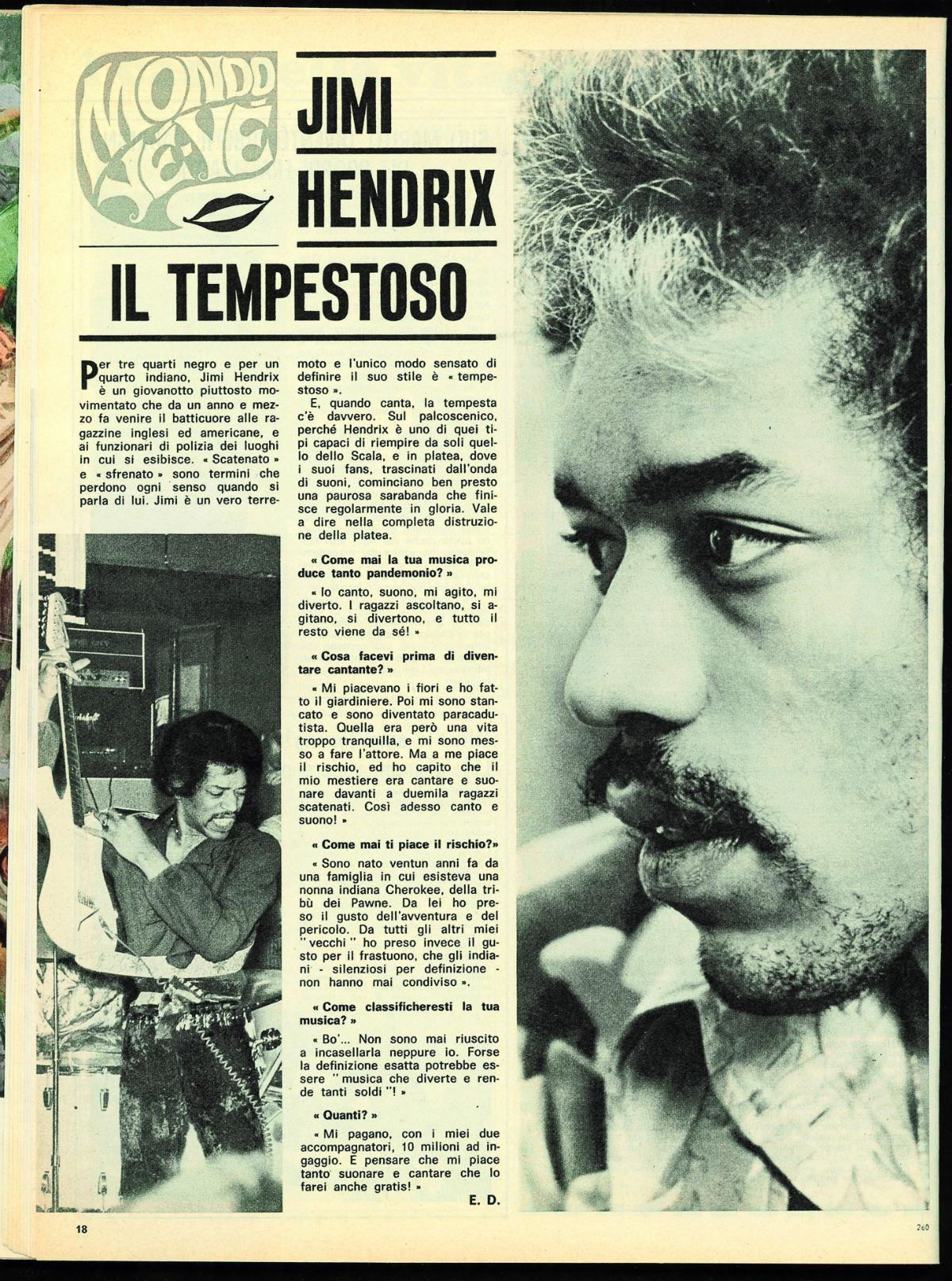 Hey Jimi - The Italian Experience 1968