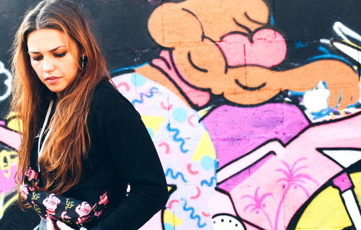 Xena è uno dei 6 artisti conivolti da Just Cavalli per reinterpretare il logo del brand in chiave street art