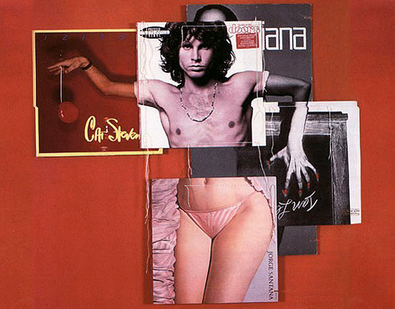 """Body Mix Record Cover Collage"": corpi 'ricostruiti' da Christian Marclay, artista, DJ e compositore di New York, che ha realizzato una serie di esilaranti collages con le copertine degli album di Doors, Michael Jackson, Donna Summer, David Bowie, Cat Stevens, Eric Clapton...   