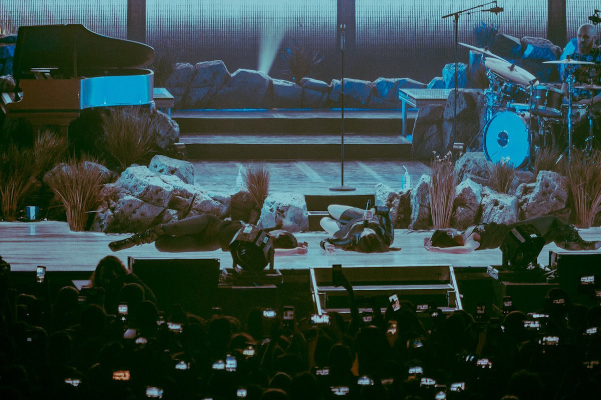 Lana Del Rey in concerto al Palalottomatica