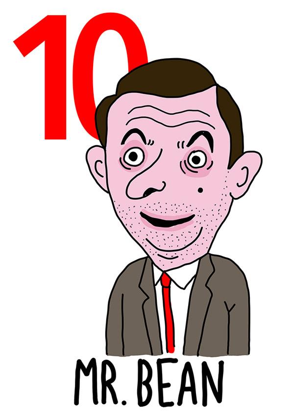 10 - Mr. Bean / 'e Fasule (I fagioli )