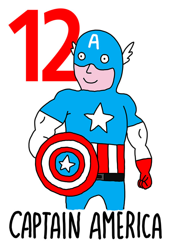 12 - Capitan America /  'o Surdate  (Il soldato)