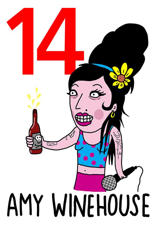 14 - Amy  /  'o 'Mbriaco (L'ubriaco)