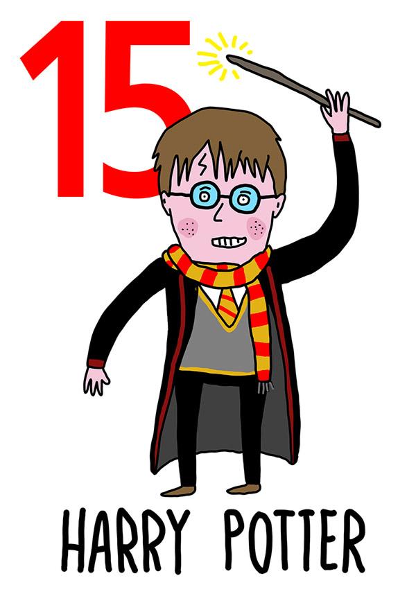 15 - Harry Potter / 'o Guaglione (Il ragazzo)