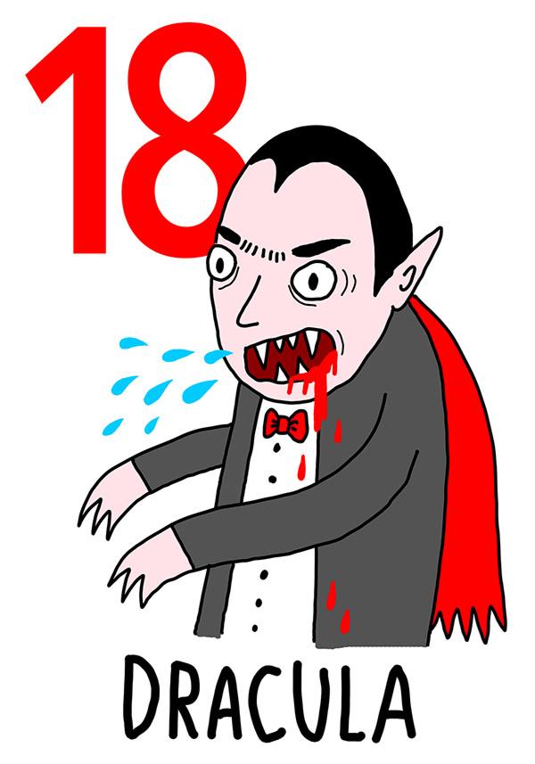 18 - Dracula / 'o 'Sanghe (Il sangue)