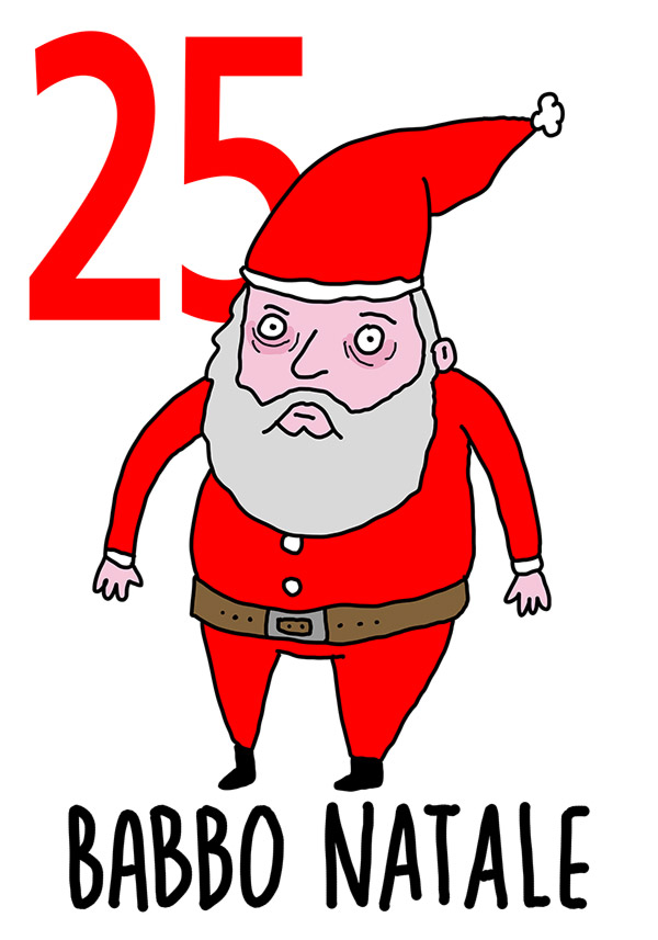 25 - Babbo Natale / Natale