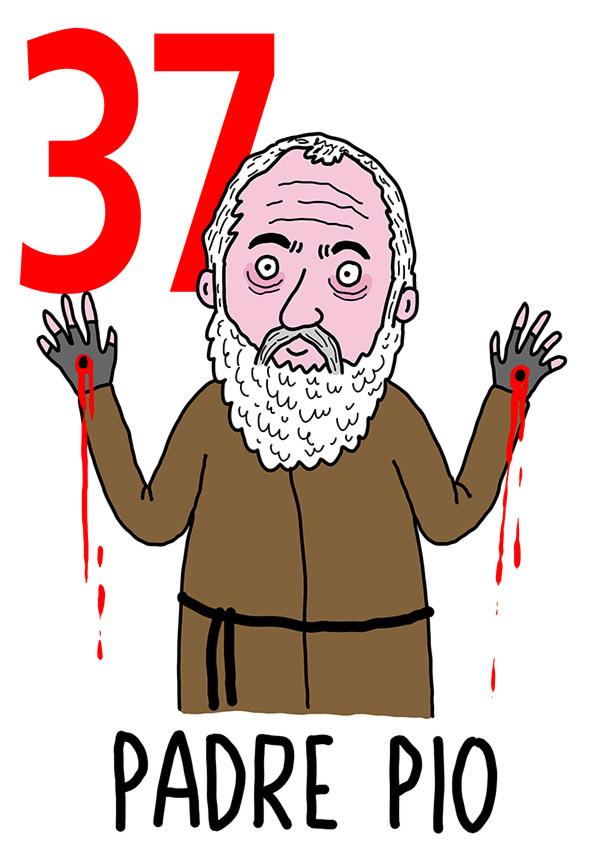 37 - Padre Pio / 'o Monaco (Il monaco)