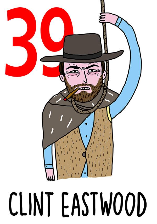 39 - Clint Eastwood / 'a Funa n'Ganna  ( La corda al collo)