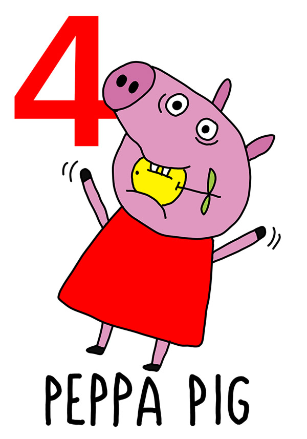 4 - Peppa Pig / 'o Puorco (Il maiale)