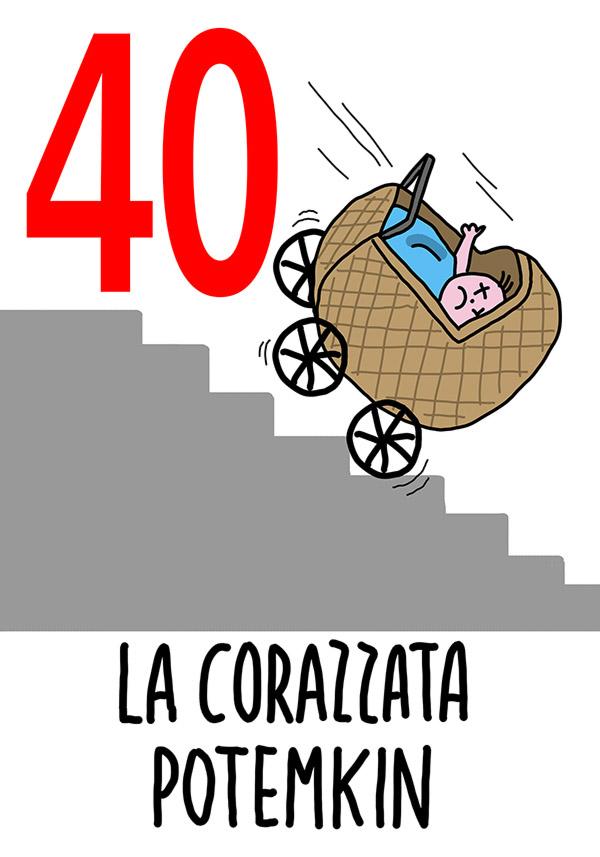 40 - La Corazzata Potemkin /  'a Paposcia (L'ernia)