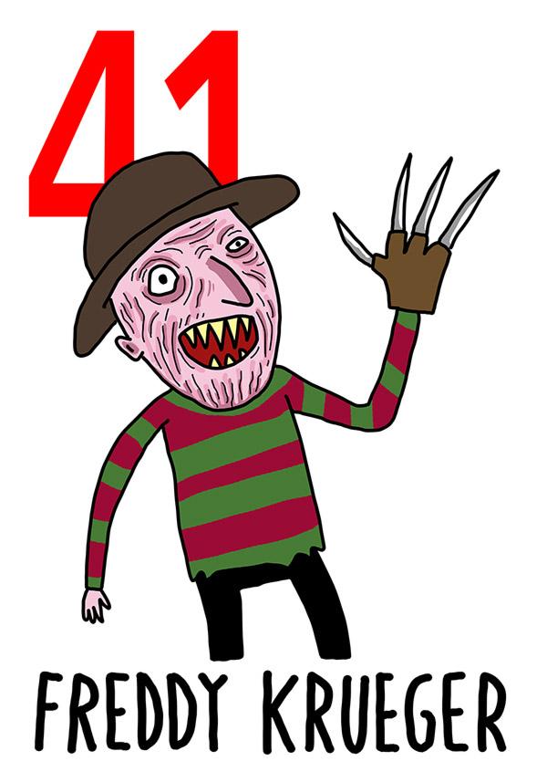 41 - Freddy Krueger /  'o Curtiello (Il coltello)