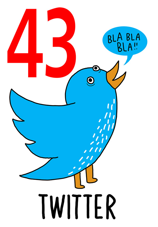 43 - Twitter / 'Onna pereta fore 'o barcone  (Donna al balcone )