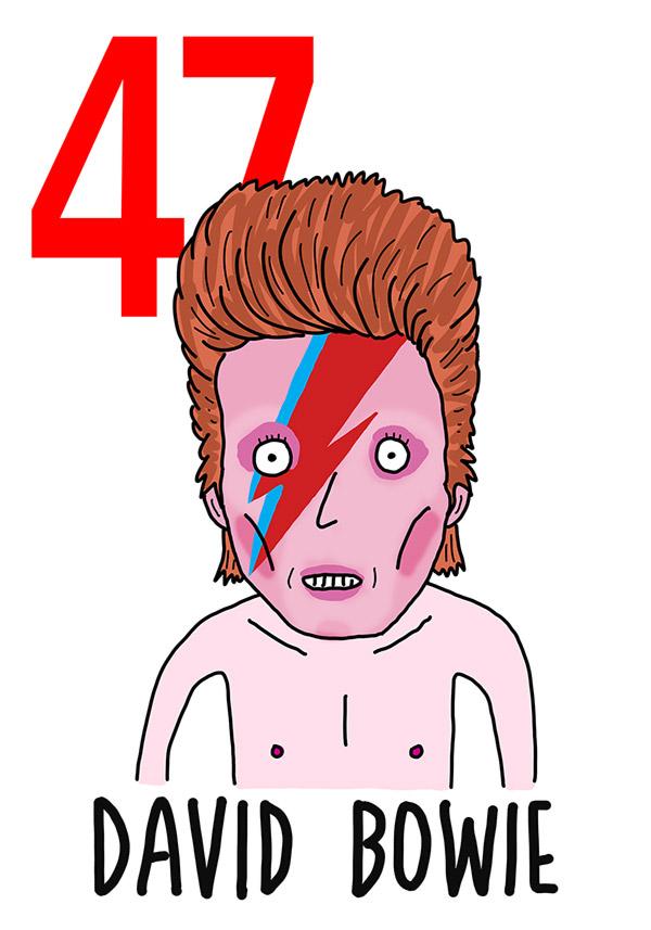 47 - David Bowie / 'o Muorto (Il morto)