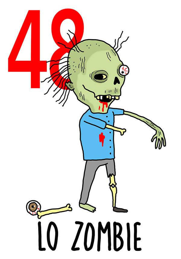 48 - Zombie / 'o Muorto che pparla  (Il morto che parla)