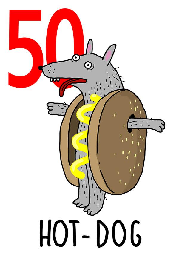 50 - Hot Dog / 'o Ppane (Il pane)