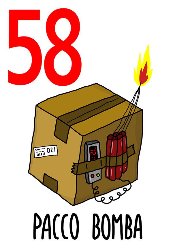 58 - Pacco Bomba / 'o Paccotto (Il cartoccio)