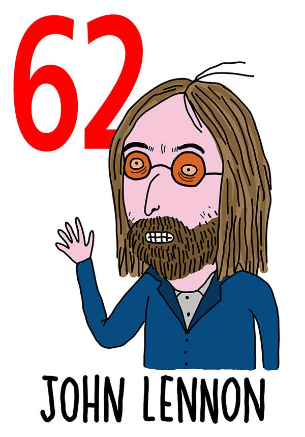 62 - John Lennon /  'o Muorto acciso  (Il morto ammazzato)
