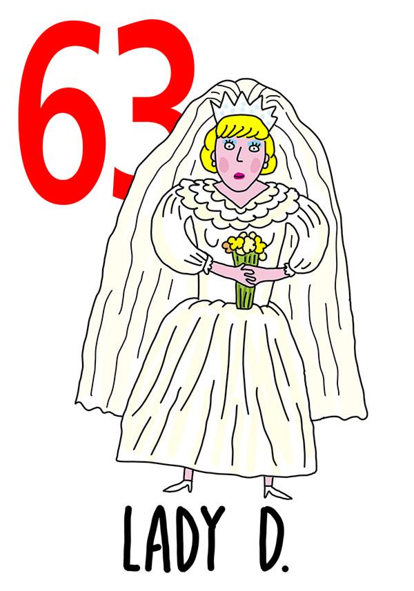 63 - Lady D /  'a Sposa (La sposa)