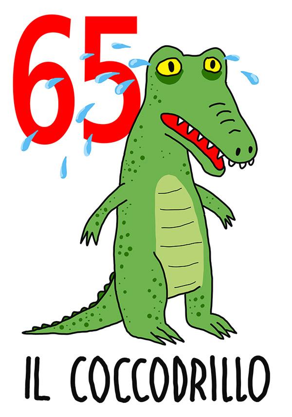 65 - Coccodrillo /  'o Chianto (Il pianto )
