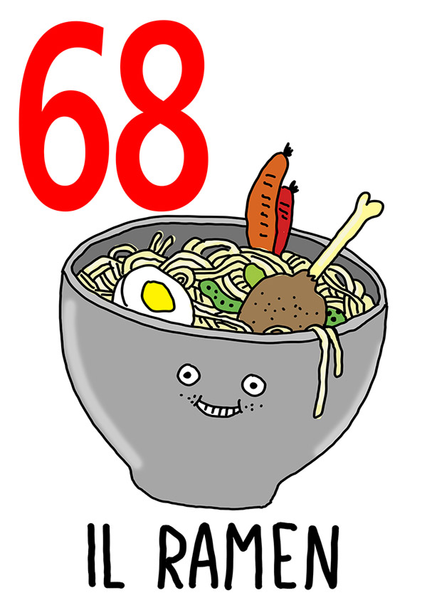 68 - Ramen /  'a Zuppa cotta  (La minestra cotta)