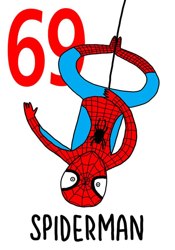69 - Spiderman / Sott'e 'Ncoppa (Sottosopra)