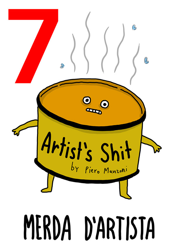 7 - Merda d'artista / 'o Vase (Il Vaso)