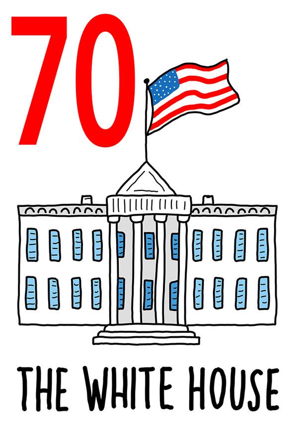 70 - White House / 'o Palazzo (Il palazzo)