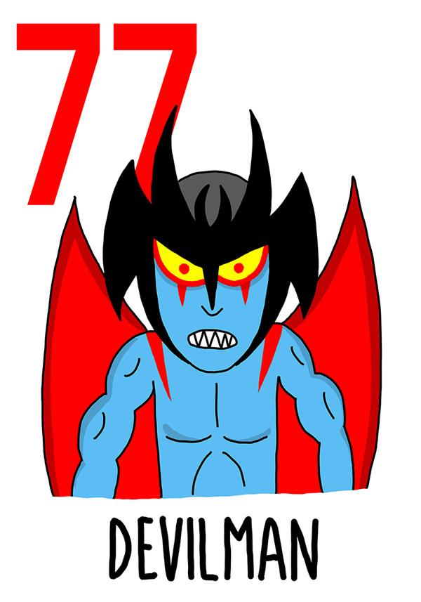 77 - Devilman /  'e Riavulille (I diavoli)