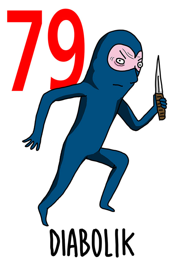 79 - Diabolik / 'o Mariuolo (Il ladro)