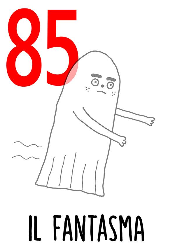85 - Fantasma / 'll Aneme 'o Priatorio  (Le anime del Purgatorio)