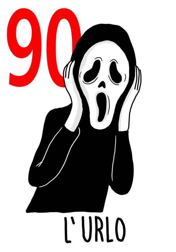 90 - L'urlo / 'a Paura  (La paura)